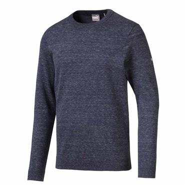 Puma Gents Crewneck Sweater Peacoat