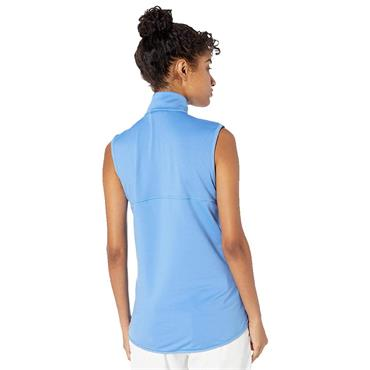 Puma Ladies Full Zip Knit Golf Vest Ultramarine