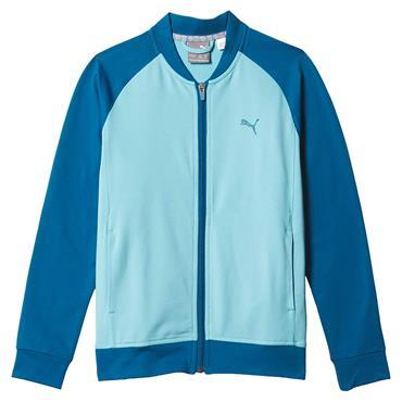 Puma Junior - Boys Stealth Full Zip Jacket Digi Blue