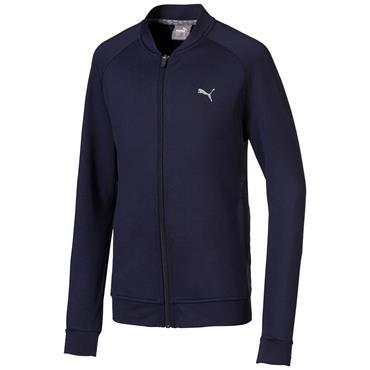 Puma Junior - Boys Stealth Full Zip Jacket Peacoat