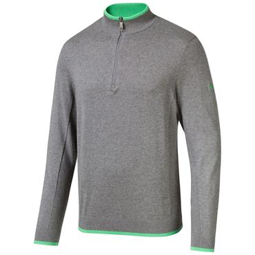 Puma Gents Dunluce ¼ Zip Top Quiet Shade