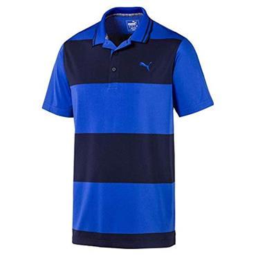 Puma Gents Rugby Polo Shirt Blue