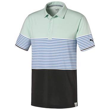 Puma Gents Taylor Polo Shirt Mist Green
