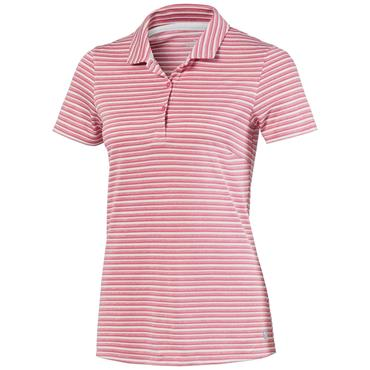 Puma Ladies Links Polo Rapture Rose