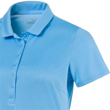 Puma Ladies Rotation Polo Etheral Blue