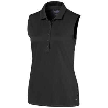 Puma Ladies S/L Rotation Polo Puma Black