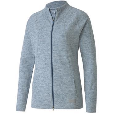 Puma Ladies Warm Up Jacket Digiblue