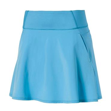 Puma Ladies Solid Woven Skirt Ethereal Blue