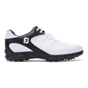 FootJoy Gents Arc XT Golf Shoes Wide-Fit White - Black