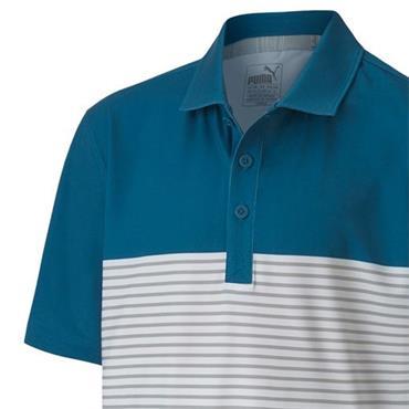 Puma Junior - Boys Taylor Polo Shirt Digi Blue