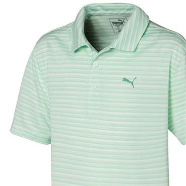 Puma Junior - Boys Links Polo Shirt Mist Green