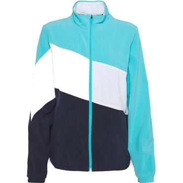 Puma Ladies Track Jacket Navy Blue