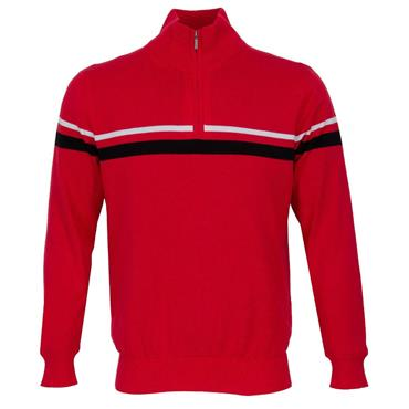 Abacus Gents Dornoch Knitted Windstopper Red