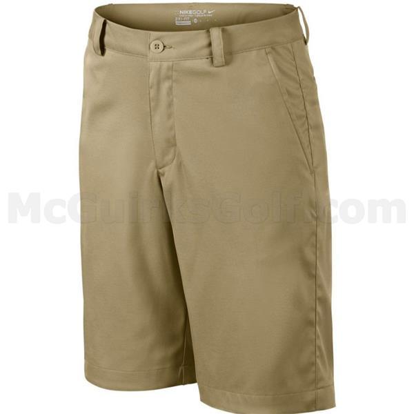 f2de74f677 Nike Junior - Boys Flat Front Shorts Khaki | Golf Store