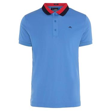 J.Lindeberg Gents Mat TX Polo Shirt Blue