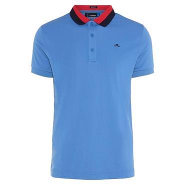 J.Lindeberg Gents Mat TX Polo Shirt Blue