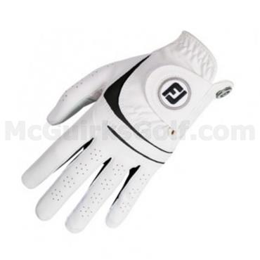 FootJoy Gents WeatherSof 2-Pack Left Hand Golf Gloves White