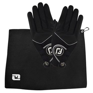 Footjoy RainGrip Rainy Day Bonus Pack Golf Gloves + Towel