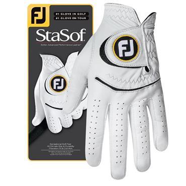 FootJoy Stasof Mens Left Hand Glove Pearl