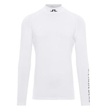 J.Lindeberg Gents Aello Soft Compression Baselayer White