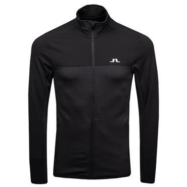 J.Lindeberg Gents Hubbard Mid Structured Jacket Black