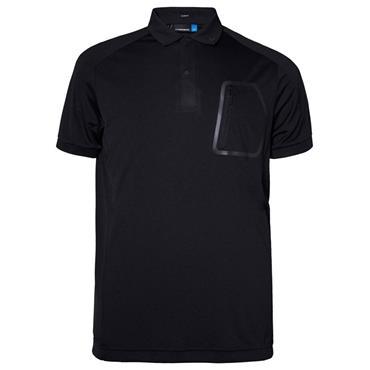 J.Lindeberg Gents Max Slim Jersey Top Black