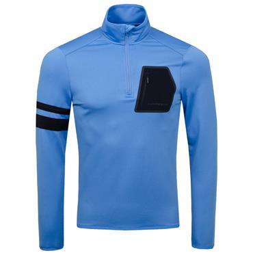 J.Lindeberg Gents Putte Tech Mid 1/4 Zip Jacket Blue