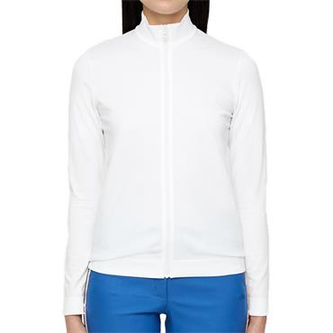 J.Lindeberg Ladies Gamon Seamless Midlayer White