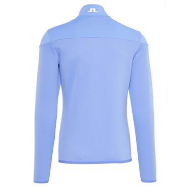 J.Lindeberg Gents Hubbard Quarter-Zip Mid Jacket Blue