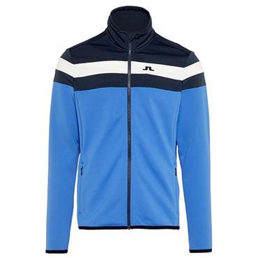 J.Lindeberg Gents Striped Midlayer Jacket Blue