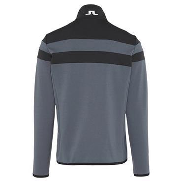 J.Lindeberg Gents Striped Midlayer Jacket Grey