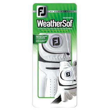 FootJoy Ladies WeatherSof Left Hand Golf Glove White