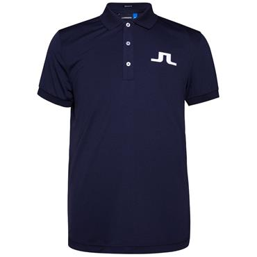 J.Lindeberg Gents Big Bridge TX Polo Shirt Navy
