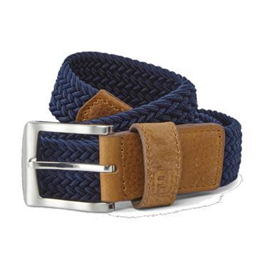 FootJoy Gents Braided Belt Navy