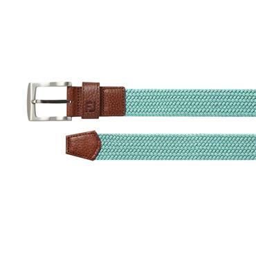 FootJoy Gents Braided Belt Ice Blue