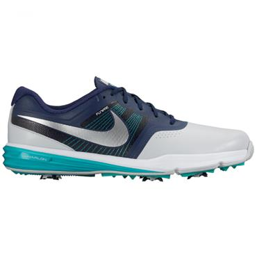 Nike Gents Lunar Command Golf Shoes Platinum - Silver