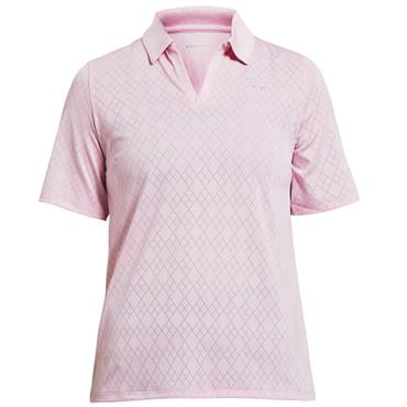 fc34c9a1d9711 Rohnisch Ladies Argyle Polo Shirt Light Pink ...