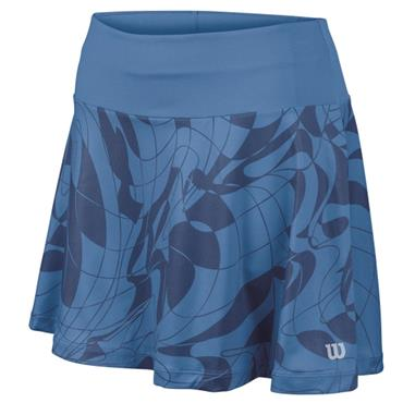 "Wilson Ladies Spring Art 13.5"" Tennis Skirt Regatta Blue"