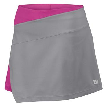 "Wilson Ladies Art 12.5"" Tennis Skirt Trade Winds - Rose Violet"