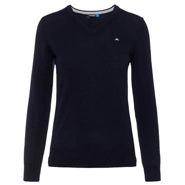 J.Lindeberg Ladies True Amaya Merino Sweater Blue 6326