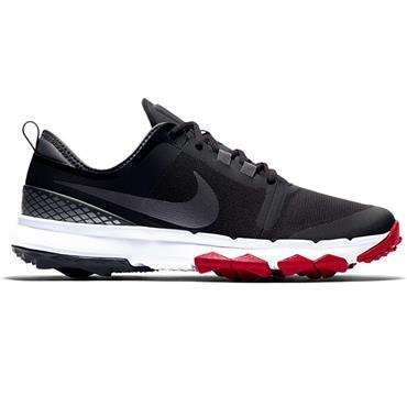 Nike Gents F1 Impact II Shoes Black - Red