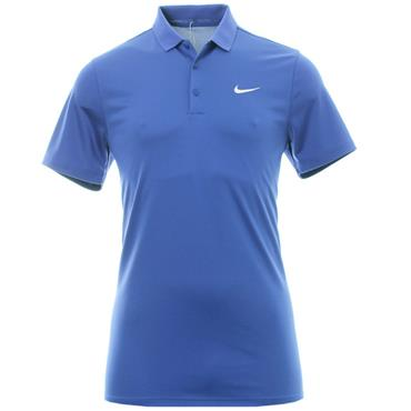 Nike Gents Modern Victory Solid Polo Shirt Blue