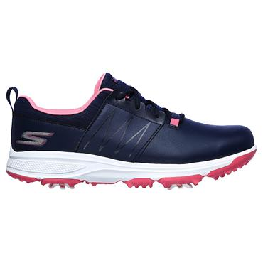 Skechers Junior Finesse Girls Shoes Navy - Pink