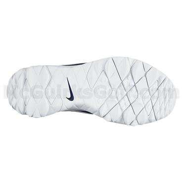 Nike Ladies Blazer Golf Shoes Navy - White