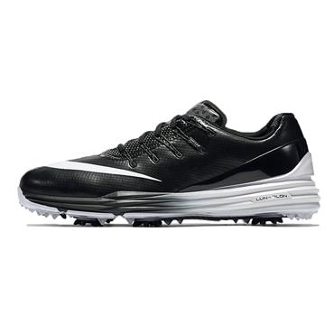 Nike Gents Lunar Control IV Golf Shoes Black - White