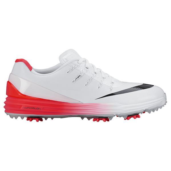 76a547268e9a3 Nike Gents Lunar Control IV Golf Shoes White - Black - Crimson ...