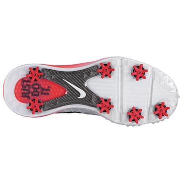 Nike Gents Lunar Control IV Golf Shoes White - Black - Crimson