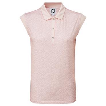 FootJoy Ladies Cap Sleeve Top Blush Pink
