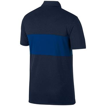 Nike Gents Block Polo Shirt Obsidian