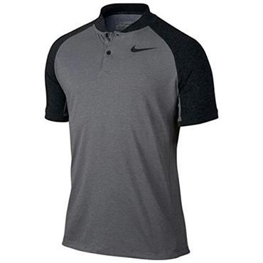 Nike Gents Dry Raglan Golf Polo Shirt Grey